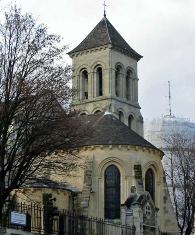Церковь Сен-Пьер-де-Монмартр (Église Saint-Pierre de Montmartre)