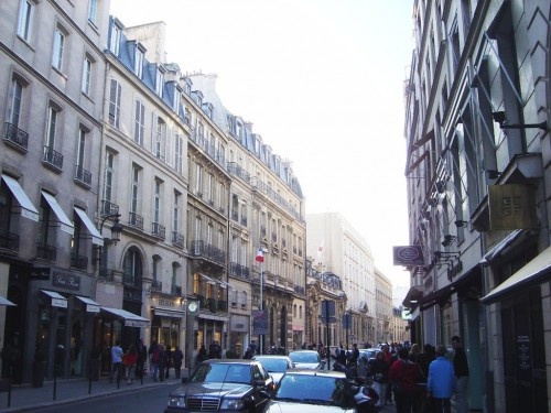 Улица Фобур-Сент-Оноре (Rue du Faubourg Saint-Honoré)