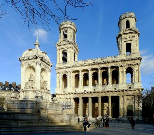 Церковь Сен-Сюльпис (l'église Saint-Sulpice)