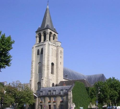 Аббатство Святого Германа, Сен-Жермен-де-Пре (l'abbaye de Saint-Germain-des-Près)