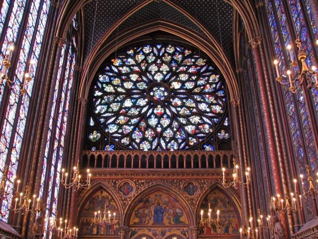 Часовня Сент-Шапель (Sainte Chapelle)