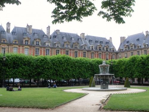 Площадь Вогезов (Place des Vosges)