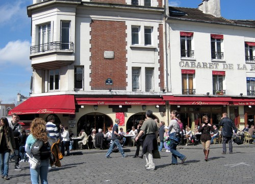 Площадь Тертр (Place du Tertre)