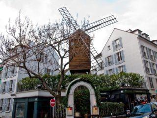 Интересное в Париже: Мельницы Монмартра