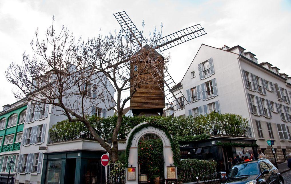 Ресторан «Мулен де ла Галет» (Moulin de la Galette)