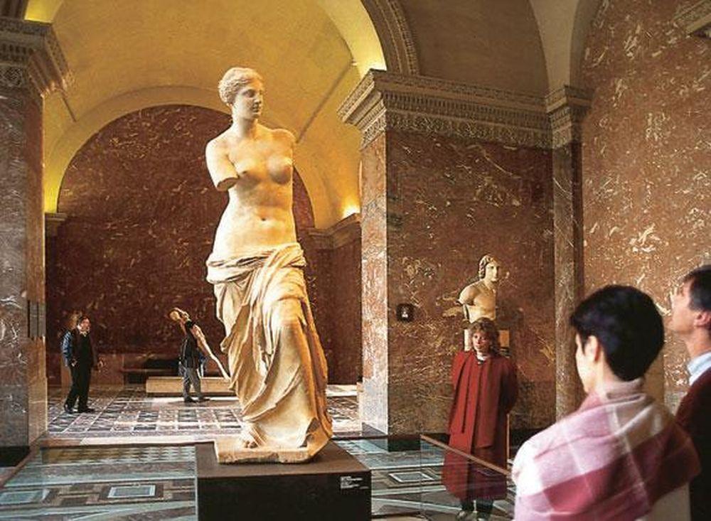 Интересное в Париже: Венера Милосская