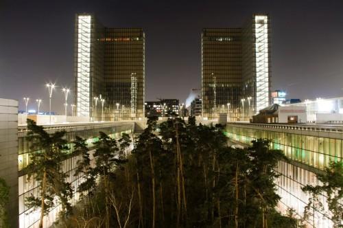 Новое хранилище Национальной библиотеки Франции (Bibliotheque Nationale de France) им. Франсуа Миттерана