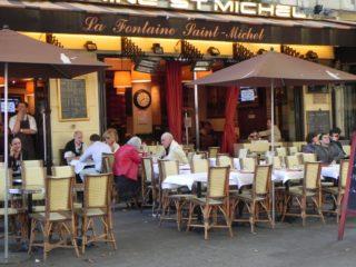 Литературные кафе бульвара Сен-Мишель