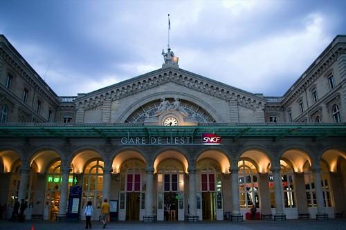 Восточный вокзал (Gare de l'Est)