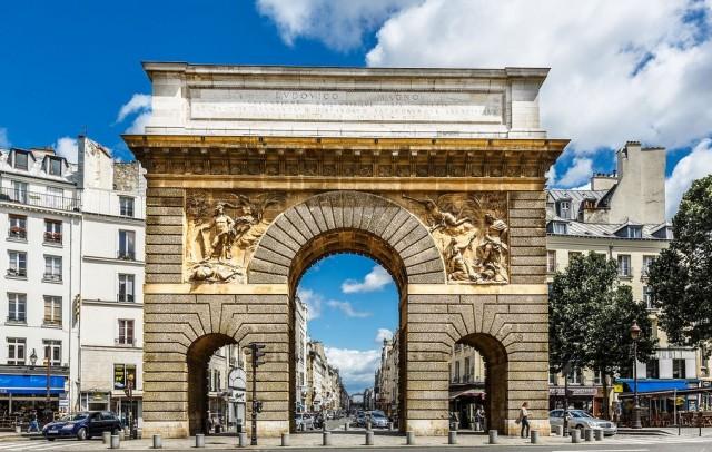 Ворота Сен-Мартен (Porte Saint-Martin)