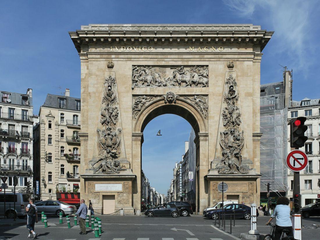 Ворота Сен-Дени