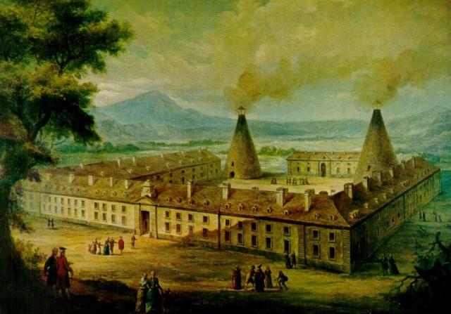 1786 год, замок Веррери (Château de la Verrerie)