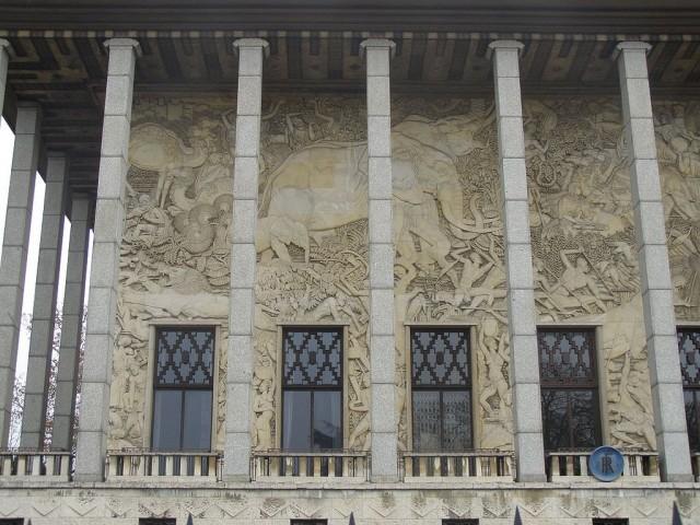 Аквариум во Дворце Золотых Ворот (Aquarium du palais de la Porte Dorée)