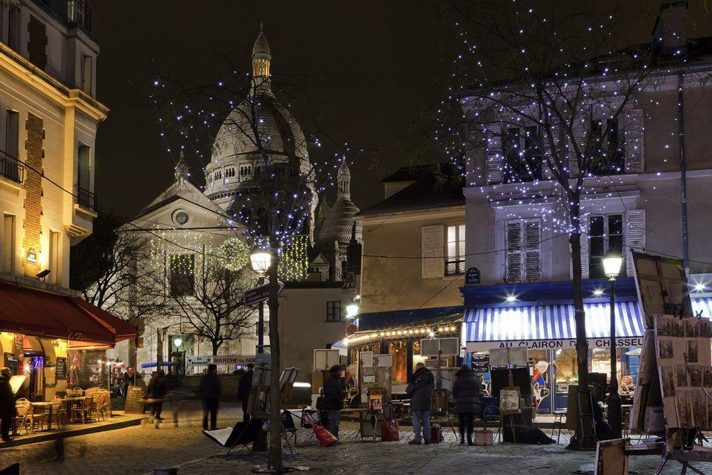 Рождественский Париж. Путешествуйте в декабре!