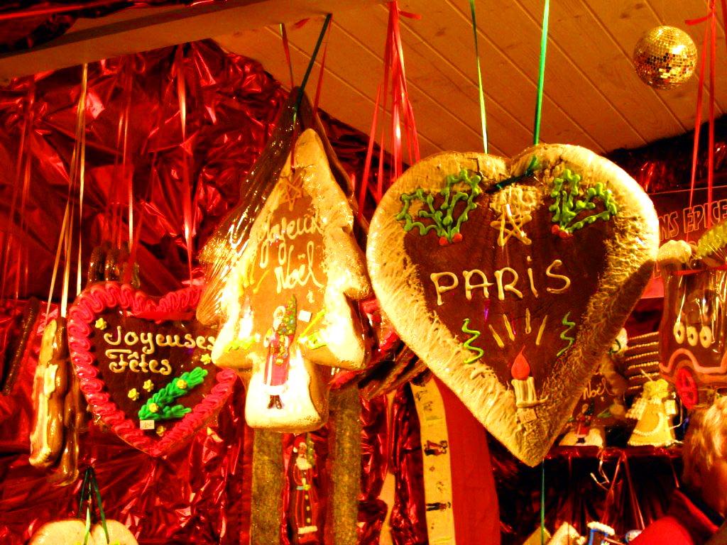 Рождественские базары Парижа