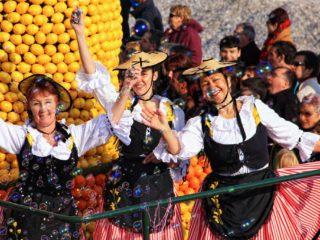 Фестиваль Лимонов в Ментоне