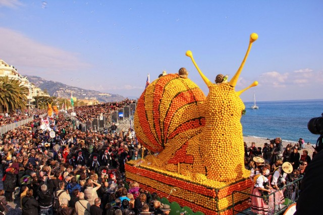Фестиваль лимонов (Fête du Citron)