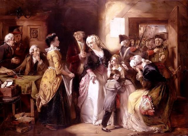 Арест Людовика XVI и его семьи
