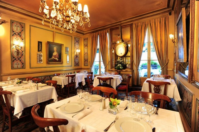 Рестораны в центре Парижа.