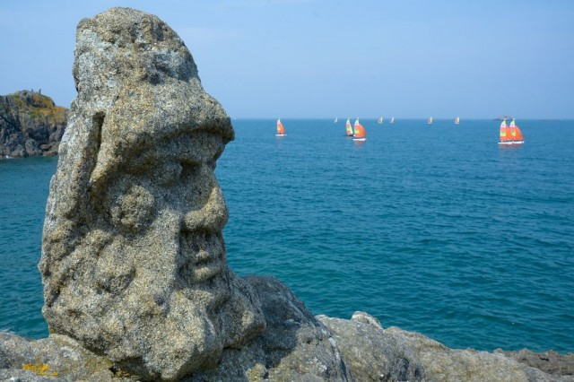 Скульптуры в прибрежных скалах (Rochers Sculptés de Rothéneuf)