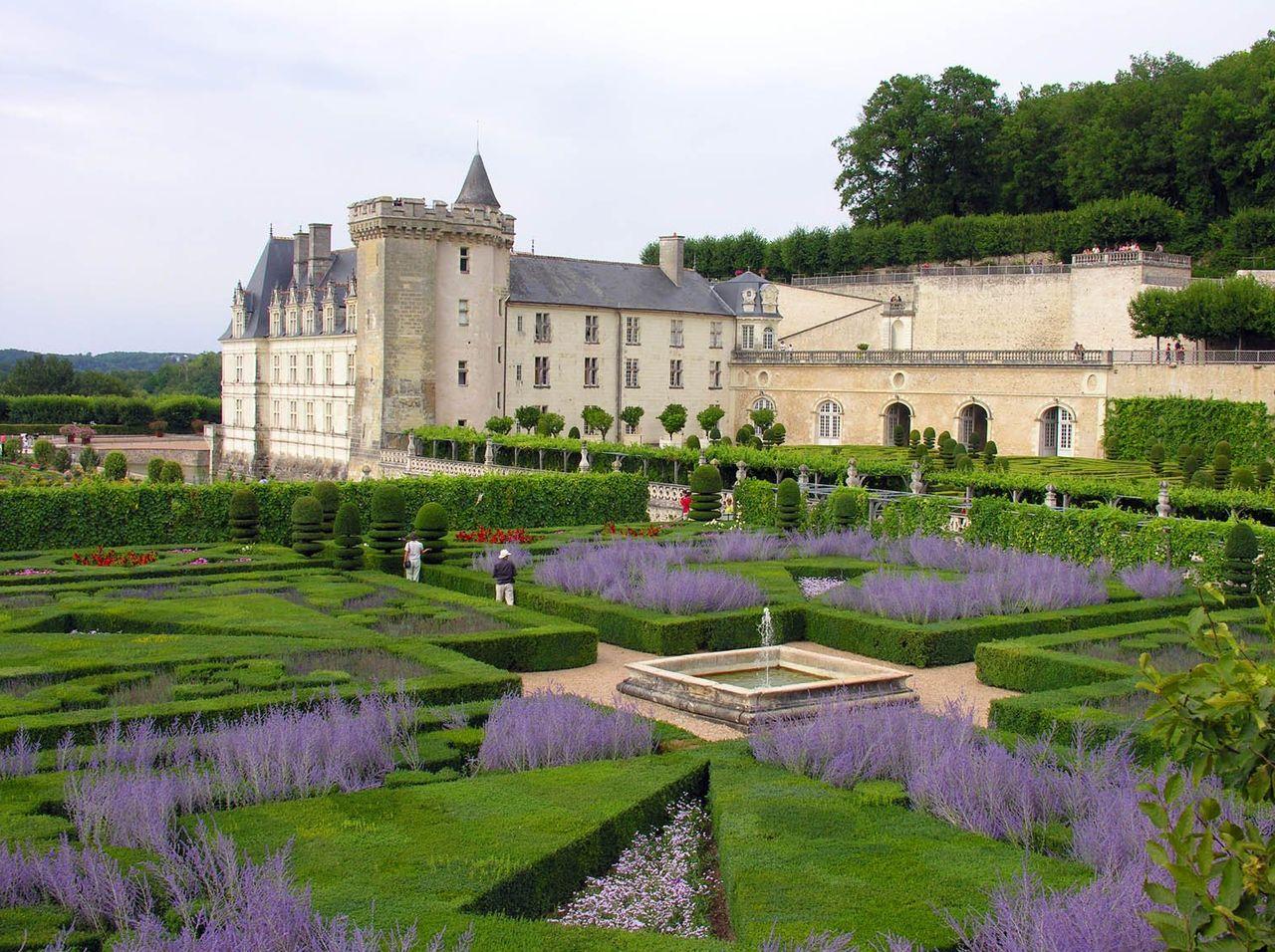 Замок Вилландри и его сады