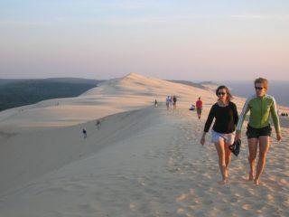 Дюна в Пиле – чудо природы на атлантическом побережье Франции