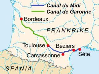 Канал дю Миди – наследие барона Рике