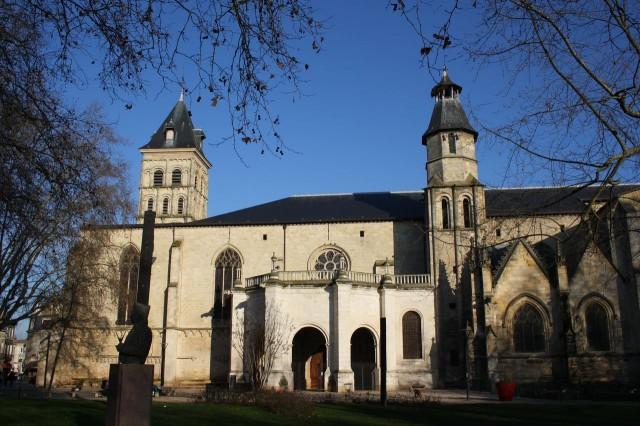 Церковь Сен-Серин (Basilique Saint-Seurin de Bordeaux)