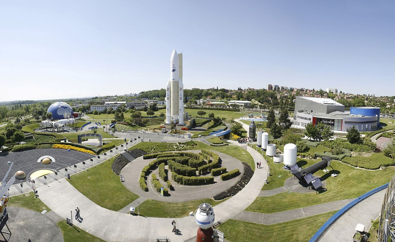 Тематический парк «Космический городок» в Тулузе
