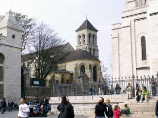 Церковь Сен-Пьер-де-Монмартр – одна из старейших церквей Парижа