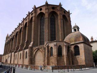 Церковь Якобинского монастыря – яркий образец южно-французской готики