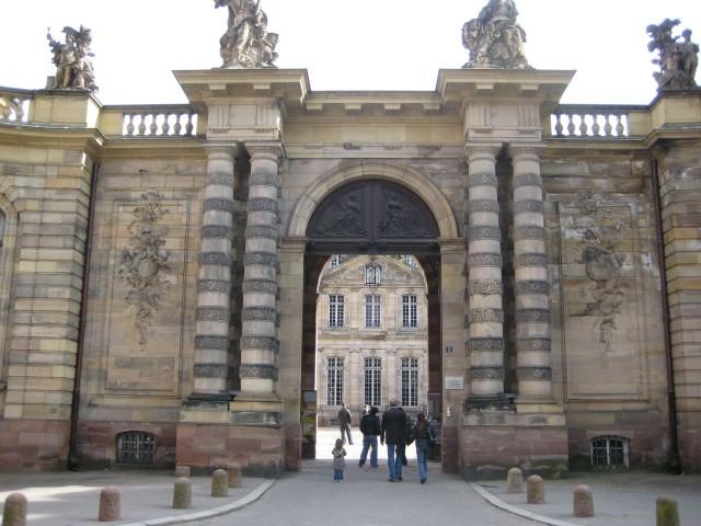 Дворец Роган (Palais Rohan),  Страсбург