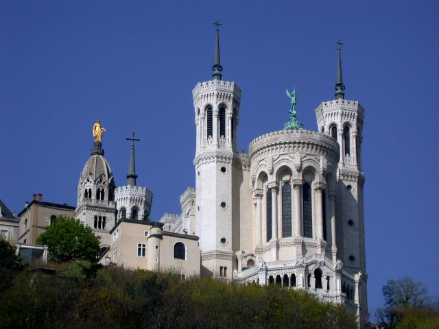 Базилика Нотр-Дам-де-Фурвьер (Basilique Notre-Dame de Fourvière)