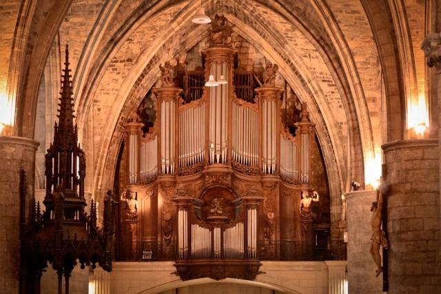 Орган Базилики  Святого Серина