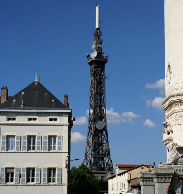 Металлическая башня Фурвьер (Tour métallique de Fourvière)