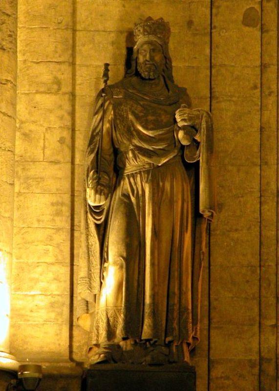Скульптура Хильдеберта I