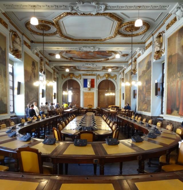 Зал муниципального совета (Salle du Conseil municipal)