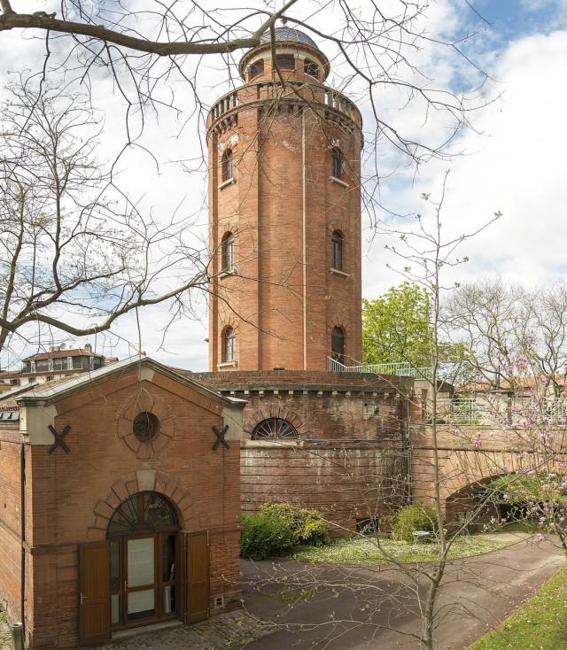 Водонапорная башня Тулузы (Château d'eau de Toulouse)
