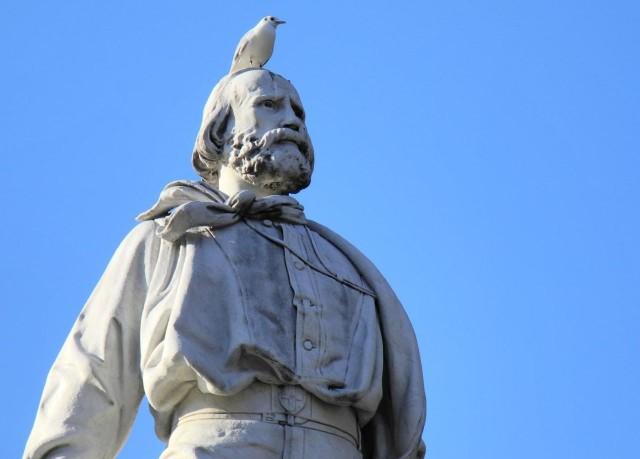 Памятник Гарибальди