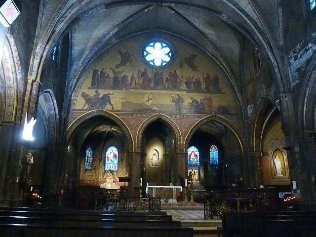 Интерьер Церкви Богоматери Быка
