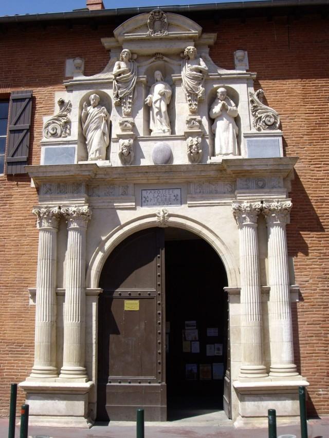 Входной портал церкви