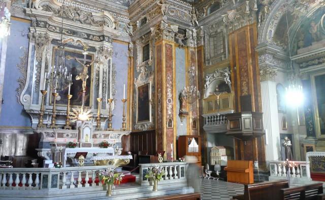Интерьер Церковь святого Иакова -ле-Мажор