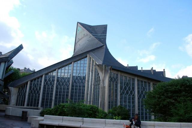 Церковь Св. Жанны д'Арк  (Église Sainte-Jeanne-d'Arc)