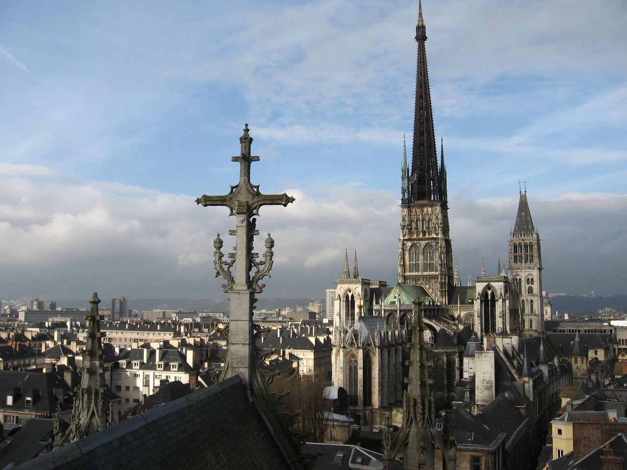 Нотр-Дам де Руан. Руанский собор – воплощение величия нормандской готики