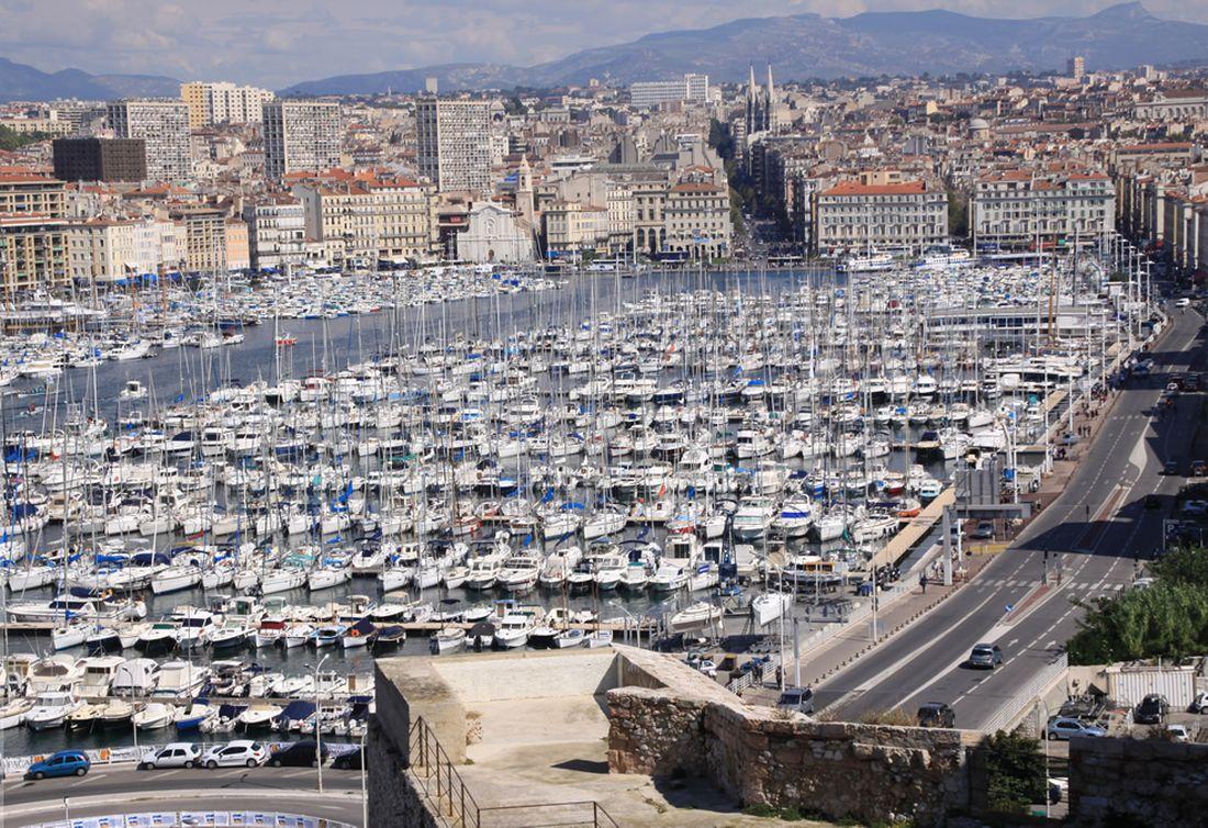 Старый Порт – историческая гавань, «ворота» Марселя
