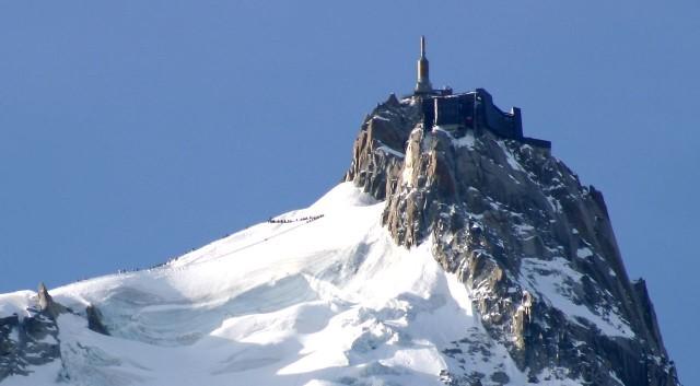 Гора Aiguille du Midi