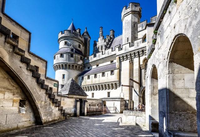 Замок Пьерфон (Chateau de Pierrefonds)