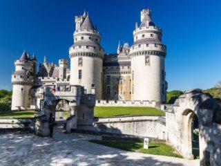 Шато де Пьерфон – средневековый боевой замок