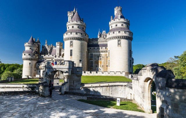Замок Пьерфон (Chateau de Pierrefonds)