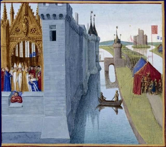Коронация Людовика VI Толстого (Louis VI Le Gros)